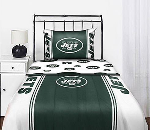 NFL New York Jets Bedding Set, Twin