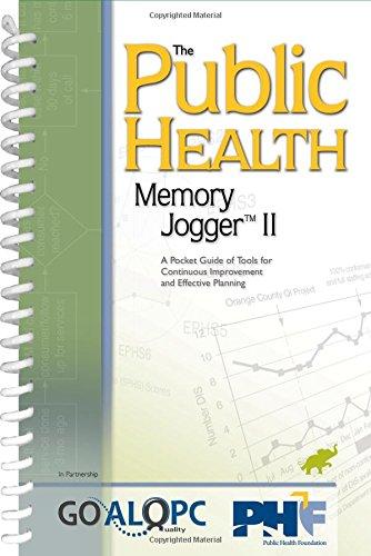 Public Health Memory Jogger Improvement product image