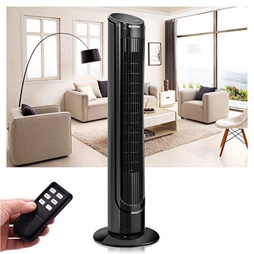 COSTWAY Fan Digital Cooling Speed w/Remote Control