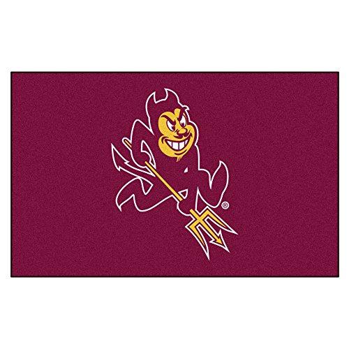 Arizona Tailgater Rug State (NCAA Arizona State University Sun Devils Ulti-Mat Rectangular Area Rug)