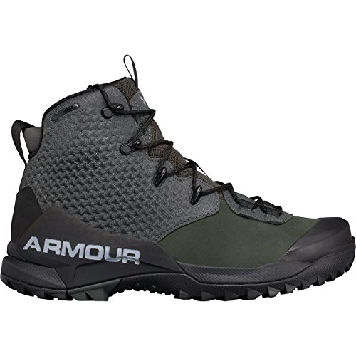 Under Armour Mens Ua Infil Gore-tex Stivali Nori Verde / Nero / Acciaio
