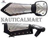 NauticalMart armor half gauntlet in stainless steel halloween
