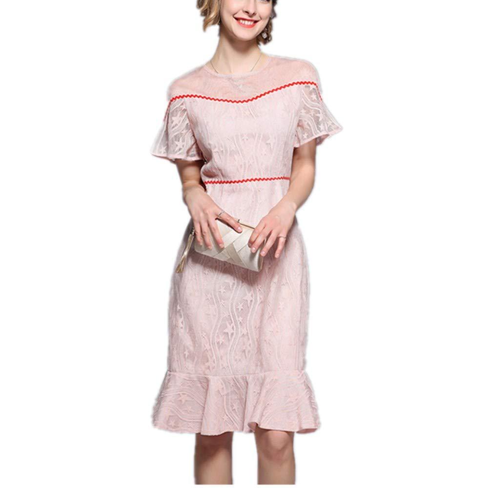 Xilin Vestido Sin Tirantes De Gasa Dorada For Mujer, Falda De Cola ...