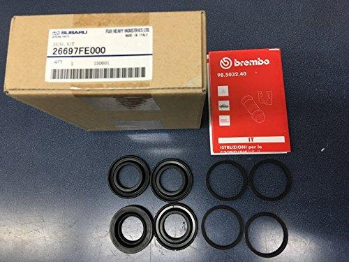 Brembo Caliper Kit - Genuine OEM Subaru Brembo Rear Caliper Reseal Kit 2004-2007 Impreza STi NEW
