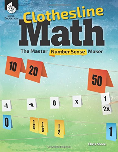 Top 1 recommendation clothesline math book chris shore for 2019