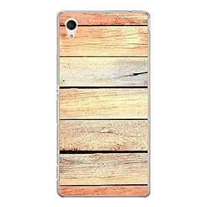 """Disagu Design Protective Case para Sony Xperia M4 Aqua Funda Cover """"Holz No.4"""""""