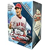 #2: Topps 2018 Chrome Baseball Mass Value Box (8 Packs/Box)