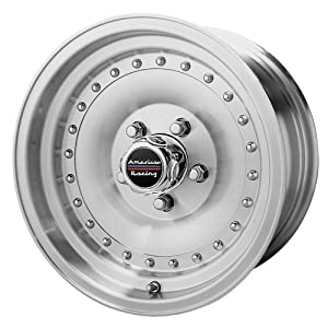 """American Racing Outlaw I AR61 Machined Wheel with Clear Coat (15x8""""/5x4.75"""")"""