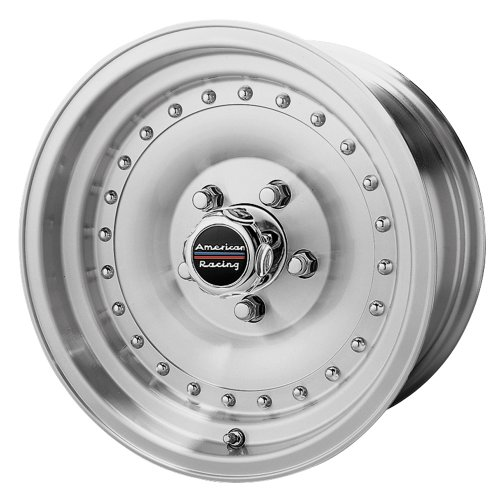 (American Racing Outlaw I AR61 Machined Wheel with Clear Coat (15x8