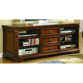 Hooker Furniture 281 55 458 Brookhaven 64 Tv Console Medium Wood