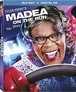 Cover Image for 'Tyler Perry's Madea On The Run [Blu-ray + Digital HD]'