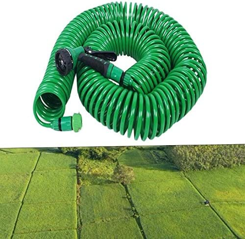 Garden hose 7.5/15/30M Expandable Magic Flexible Water Hose Plastic Hoses Pipe With Spray Gun Watering Irrigation (Color : 30m) 15m