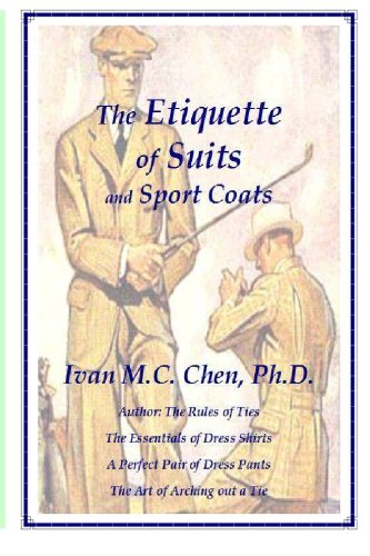 The Etiquette of Suits and Sport Coats - Suits and Sportcoats Shopping Results