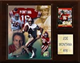 NFL Joe Montana San Francisco 49ers Player Plaque