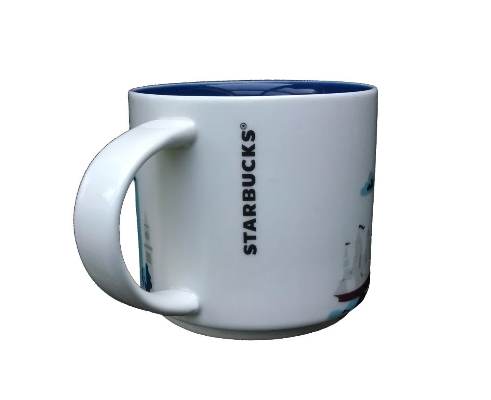 Amazon.com: Starbucks taza de café, usted está aquí ...