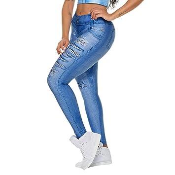 Amazon.com: Zcxaa Soft Women High Waist Wide Pants Legs ...
