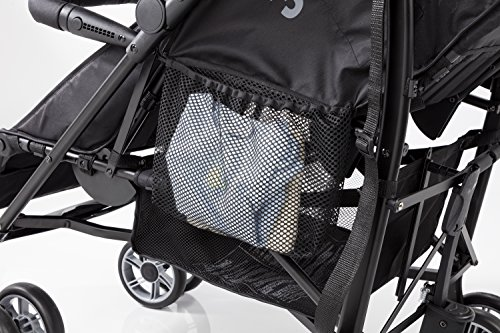 Summer Infant 3Dtwo Double Convenience Stroller, Gray Squared by Summer Infant (Image #8)