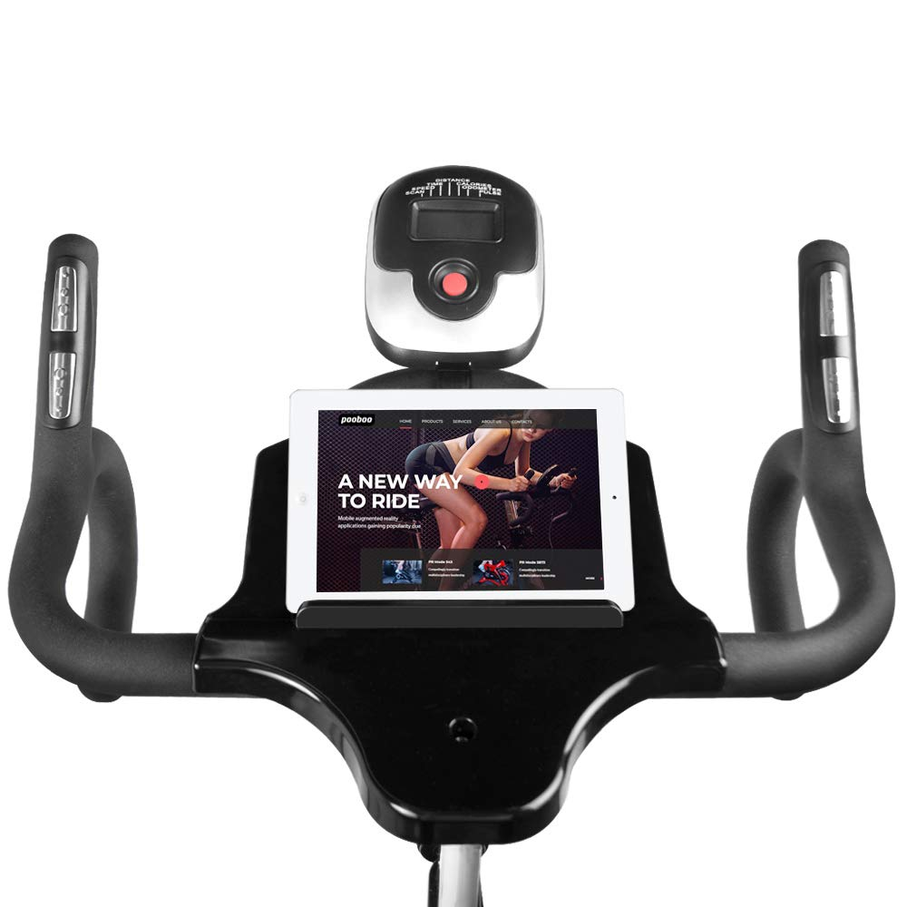 L NOW Indoor Cycling Bike Stationary Exercise Bike Quiet and Smooth with Tablet Holder (D6001) by L NOW (Image #3)