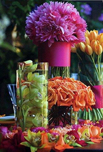 Amazon Discount Glass Cylinder Vases 10 X 5 Home Kitchen