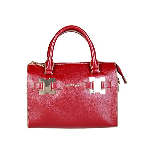 Laura Genuine Red Biagiotti Handbag Designer Women 5RnwIqz0xB