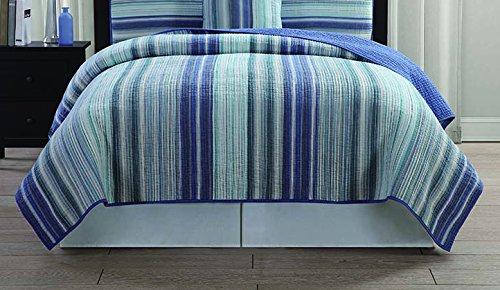 Pem America Hyannis Stripe Quilt, King by Pem America