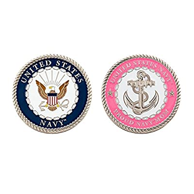 US Navy Proud Mom Challenge Coin: Everything Else
