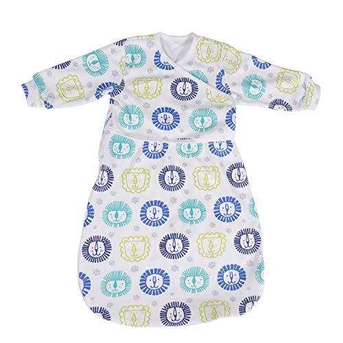 BLOOMSTAR Nursery Swaddling Blankets Cotton, Wearable Blanket with Sleeve,Baby Sleeping Bag, Sleeping Sack