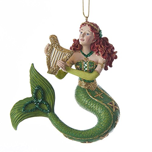 - Kurt Adler Ireland International Mermaid Ornament