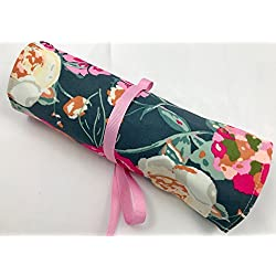Travel Jewelry Roll Organizer - Garden Rocket in Bachelor