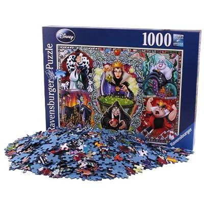 Ravensburger 19252 Disney Puzzle Le Cattive 1000 Pezzi
