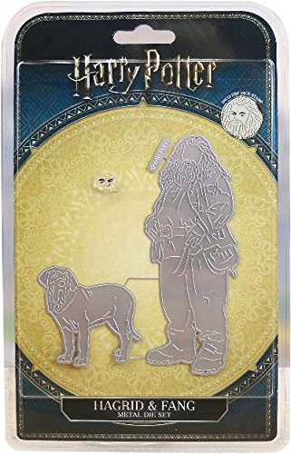 Character World Limited DIS2310 Hagrid & Fang Die Set, Silver