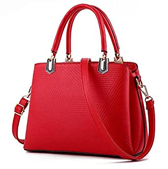 Red leather Tote Bags for gilrs GL006