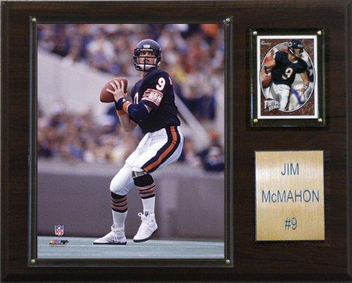 Jim Mcmahon Football - NFL Jim McMahon Chicago Bears Player Plaque