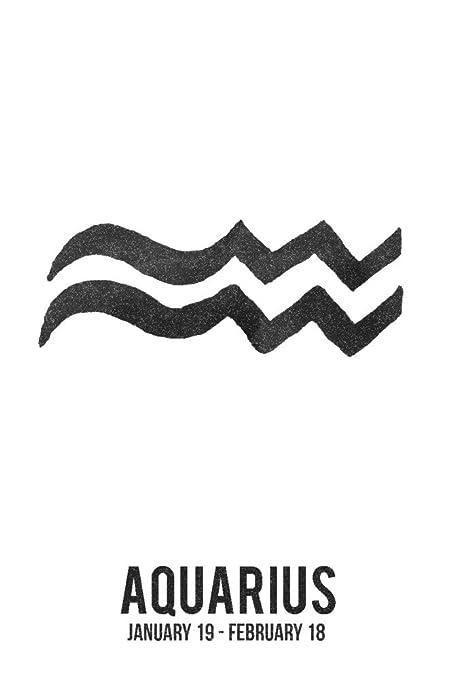 aquarius astrological symbol images