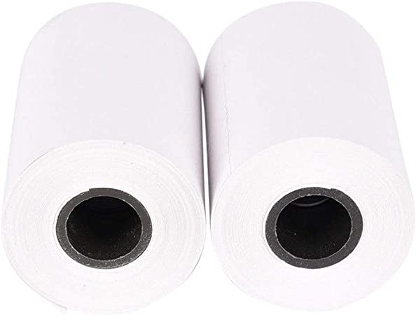 40 Calculator Paper Thermal Printing,Cash Register Printer Paper Rolls,Credit Card Receipt Label Printing Paper 1pc 57
