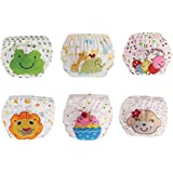 6 Pack Baby Toddlers Toilet Pee Potty Training Pants...