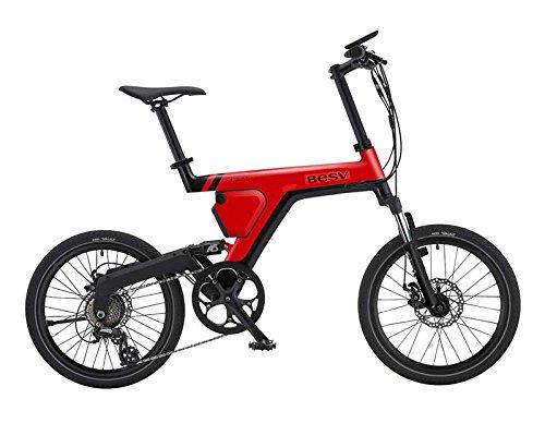 BESV(ベスビー) PSA1(PSA1) 電動アシスト自転車 2018年モデル YTRT06 (レッド) B07DLQHXKG