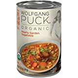 #5: Wolfgang Puck Organic Soup, Hearty Garden Vegetable, 14.5 Ounce (Packaging May Vary)