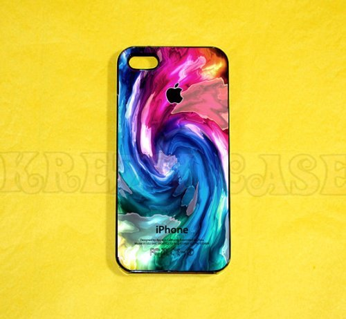 Krezy Case iPhone 6 Plus Case, iPhone 6 Plus case, Colorful Swirl iPhone 6 Plus Case, Cute iPhone 6 Plus Case,...