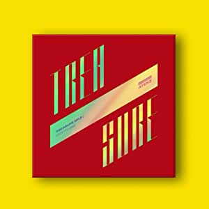 K-POP ATEEZ - Treasure EP.3 : One to All, Illusion Cover Incl. CD, 104pg Booklet, 3 Photocards, 8 Postcards, On Pack Folded Poster, Sticker, Extra Photocards Set