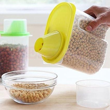 Te de cereales almacenaje dispensador de pasta recipiente de comida deshidratado scellé –