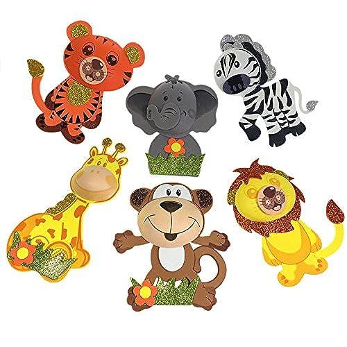 Baby Jungle Animals Baby Shower Amazon