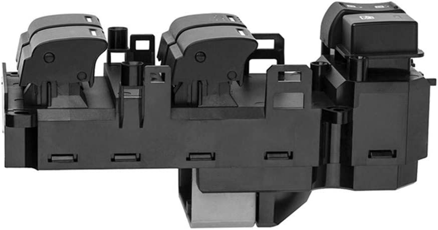 Color : Black NOBRAND 35750-TB0-H01 Interruptor Ventana 35750Tb0H01 Energ/ía El/éctrica Levantador de Control Maestro for Honda Accord 2008-2011