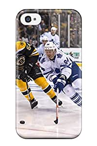 New Style LeeJUngHyun Hard Case Cover For Iphone 4/4s- Boston Bruins (23)