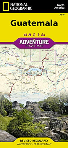Guatemala (National Geographic Adventure Map)