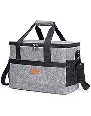 Lifewit Kylväska mjuk med hårt foder, stor isolerad picknick lunchväska låda mjuk sida kylväska för camping/grill/familj utomhusaktiviteter 20L/30L/40L