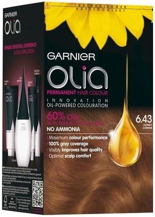 Garnier Olia 6.43 Honey Copper - Tinte permanente para el ...