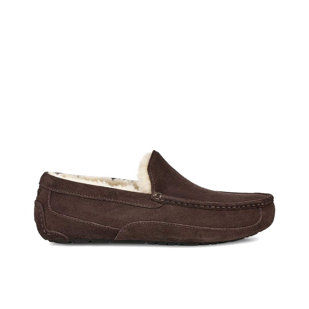 UGG Men's Ascot Slipper, Espresso, 11 M US