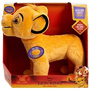 CGI Disney's The Lion King Talk & Roar Simba