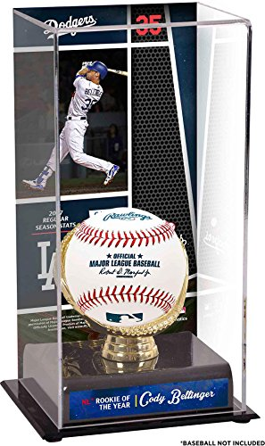 Cody Bellinger Los Angeles Dodgers 2017 NL Rookie of the Year Sublimated Display Case with Image - Fanatics Authentic Certified